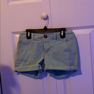 Light teal American Eagle Shorts
